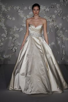 Ball Gown Silhouette Wedding Dresses have always been the most classical bridal dresses ever known since history. They give you that perfect wedding feeling and are floor-length. Ball Gown Silhouette Wedding Dresses are perfect in