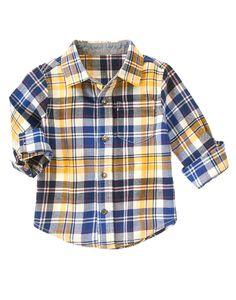 Plaid Flannel Shirt at Gymboree (Gymboree 3m-5T)