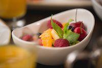 refreshing fruit.. Fruit Salad, Castle, Food And Drink, Fruit Salads, Castles