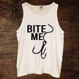Bite Me Tank $18.00 (available in 5 colors) http://www.sixshootergiftshop.com/collections/new-products/products/bite-me-tank