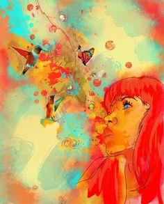 Abstract Art 4 - Bright Senses