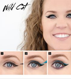 Color your perspective. Find out how to get the WILD CAT look on the #Sephora Glossy>  #makeup #eyeliner #doublewingedliner