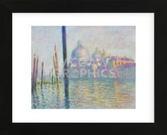 Grand Canal, Venice, 1908 (Framed)