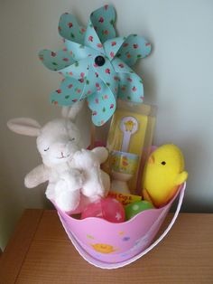 Easter Basket Ideas For Baby Savvy Sweet Life First Easter Basket Ideas