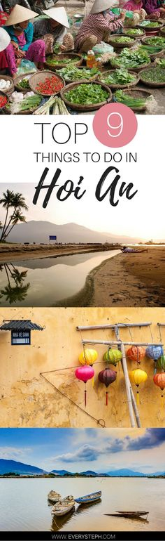 What to do in Hoi An, Vietnam: a complete Hoi An travel guide. Hoi An is impossible not to love! Things to do in Hoi An Vietnam Vietnam Voyage, Vietnam Travel, Asia Travel, Travel Advice, Travel Tips, Travel Destinations, Travel Guides, Budget Travel, Hanoi