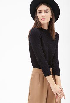 Pull à Motif Géo - Sweats  amp  Tricot - 2000120454 - Forever 21 EU Sweater 420f8c51ca