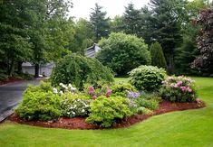 Ландшафт участка в пейзажном стиле фото