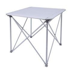 Trending now Amedee KingCamp Aluminum Alloy Lightweight Portable Strong Stable Roll Up Folding Camping Table by Freeport Park Camping Kitchen Table, Folding Camping Table, Camping Furniture, Outdoor Furniture, Rolling Table, Outdoor Picnic Tables, Portable Table, Metal Side Table, Aluminum Table