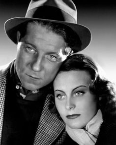 Michèle Morgan and Jean Gabin in Le Quai des Brumes (Port of Shadows) Humphrey Bogart, Jean Gabin, Famous Duos, Celebrities Then And Now, Morgan, Old Movie Stars, French Films, Famous Couples, French Actress