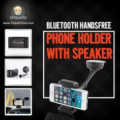 A Bluetooth Handsfree Phone Holder With Speaker is an item that your clients will find very useful. Not only is it well designed, its charging, holding phone, listening to music prospects will use it more often which means that your brand will be seen more often.