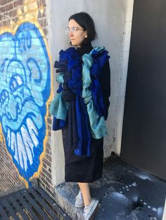 "Martha Violante, stylist ""Rei Kawakubo has always been a fashion rule breaker . . . she is an artist . . . and she marches to the beat of her own drum . . . and I have always related to that . . . I have never wanted to fit in."""