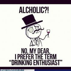 Well, I might not have a fabulous monocle, but this describes me to a T! After 12: Like a (Drunk) Sir
