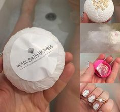 They say two is better than one... Discover this gorgeous ring set in your Pearl Bath Bomb!