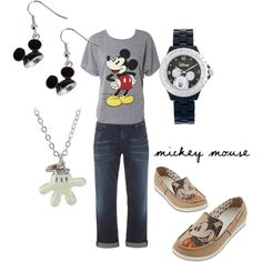 Great outfit for when I got to Disney =) minus the shoes though