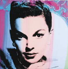'Judy Garland' (1978) by Andy Warhol More Pins Like This At FOSTERGINGER @ Pinterest