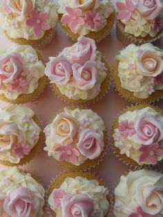 sweetly decorated cupcakes