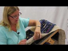 Rug Hooking artist Susie Stephenson talks about her sources of inspiration in over 20 years of making rugs, and her recent interest in hooking rugs with yarn and other materials. This is part 2, part 1 is here: http://www.youtube.com/watch?v=YzjoFLNYOjc. Susie is the Author of Designing and Hooking Primitive Rugs (find it here: http://halcyonyar...