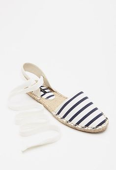 8d6bfdc1e9ec Striped Espadrille Sandals -  18 (these look just like the Soludos ones but  more affordable