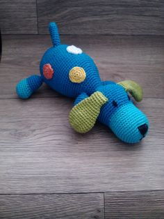 dog with dots amigurumi PDF pattern crochet englisch by Alinies, $4.50