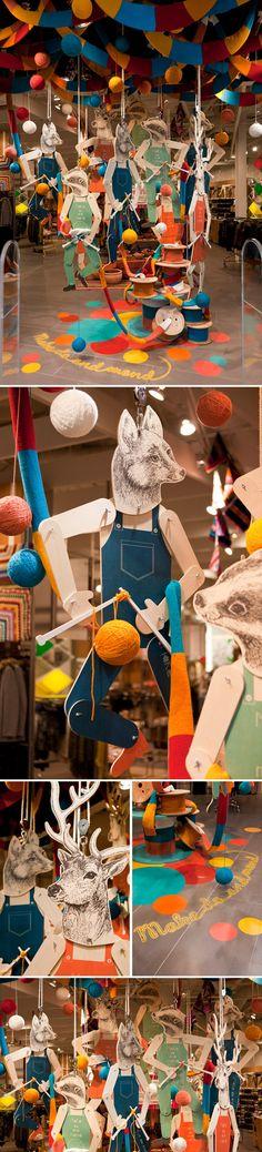 """SPORTSGIRL, Sydney, Australia, """"Make Do & Mend"""", by Gloss Creative, pinned by Ton van der Veer"""