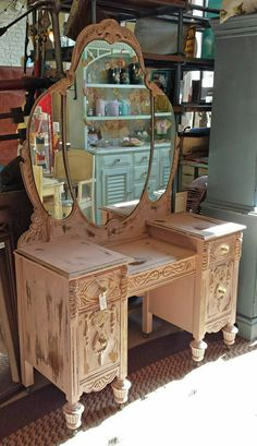 Exquisite 1930's Vanity by ShantyChicAntiques on Etsy
