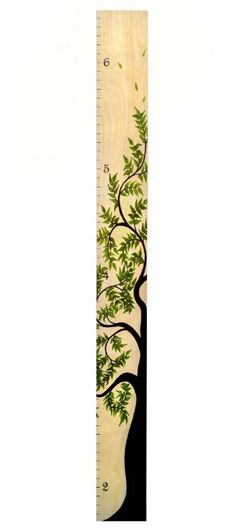 Amazon.com - Tree of Life Wooden Ruler Growth Chart - By Growth Chart Art (Natural Birch) - Childrens Wall Decor