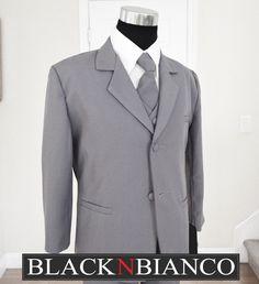 Black N Bianco - Boys Suit in Gray Dresswear, $21.99 (http://www.blacknbianco.com/boys-suit-in-gray-dresswear/)
