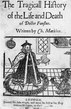 The Tragicall History of the Life and Death of Doctor Faustus by Christopher Marlowe