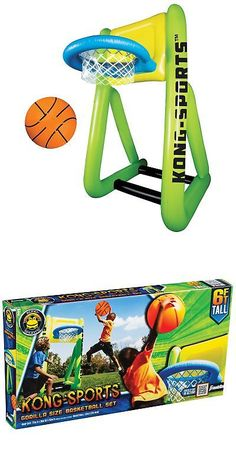 Games 145978  Franklin Sports Kong Sports Basketball Set -  BUY IT NOW ONLY  d0502f21f719b