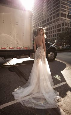 berta fall 2017 bridal sleeveless thing strap deep v neckline heavily embellished bodice sexy romantic tulle skirt a line weding dress low back chapel train bv -- Berta Fall 2017 Wedding Dresses Sexy Wedding Dresses, Bridal Dresses, Wedding Gowns, Lace Wedding, 2017 Bridal, 2017 Wedding, Berta Bridal, Mannequins, Dress Collection