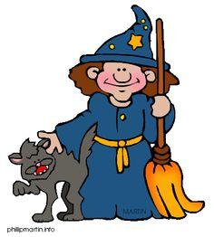 Free Halloween Clip Art by Phillip Martin, Witch. See More. 1. Dibujo de Bruja