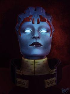Mass Effect: Samara by ruthiebutt.deviantart.com on @DeviantArt