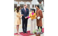 The Duke and Duchess of Cambridge met with the King of Bhutan's sister Chhimi Yangzom and her husband.