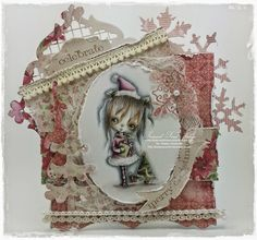 O' Christmas Tree, O' Christmas tree, I thank thee for your branches! Card Making, Christmas Tree, Stamp, Journal, Dolls, Cards, Xmas Tree, Stamps, Puppet