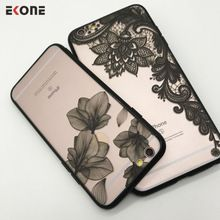 EKONE Oca Do Vintage Caixa Do Telefone Para o iphone 6 6 S Plus 7 7 mais Caso Alívio Black Lace Flor Mandala Caso Capa Para o iphone 6 S(China (Mainland))