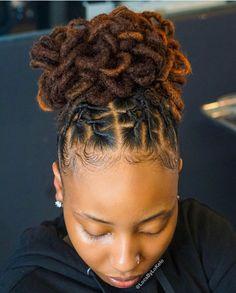 Dreads Styles For Women, Short Dreadlocks Styles, Dreadlock Hairstyles For Men, Dreadlock Styles, Girl Hairstyles, Braided Hairstyles, Curly Hair Styles, Short Dread Styles, Wedding Hairstyles