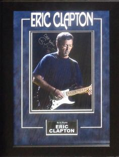 Antiquities LV - Eric Clapton Signed Photo, $1,495.00…