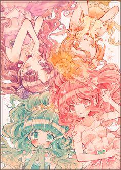 Of fire and waves — fuckyeahpixivranking: 「✵Putit Loli Kawaii, Kawaii Art, Anime Girl Cute, Anime Art Girl, Pretty Art, Cute Art, Anime Chibi, Manga Anime, Anime Artwork