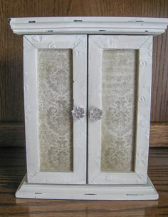 Exclusive OOAK Shabby Chic Wardrobe Armoire by WhimsiesofBlythe Shabby Chic Wardrobe, Interior Design Advice, Shabby Chic Homes, Shabby Chic Furniture, Armoire, Doll Clothes, House Design, Home Decor, Style