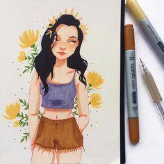 "281 Likes, 19 Comments - Laura Bernard (@laurabeedraws) on Instagram: ""Artists attire✨"""