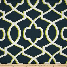 Blue and Green Geometric Pillow Cover  Premier by FreshCanopy
