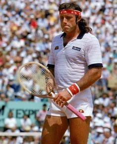GUILLERMO VILAS. 4 Gran Slams, 62 ATP titles, countless records. Best South American Tennis player ever.