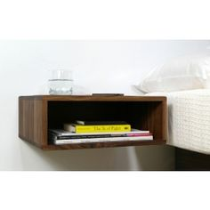 This would be great with any bed that has drawers underneath it.  Need two now!    urbancase Edge Table at DesignPublic.com