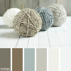 Color Palette: Tan, Mauve and Brown. If you like our color inspiration, sign up…