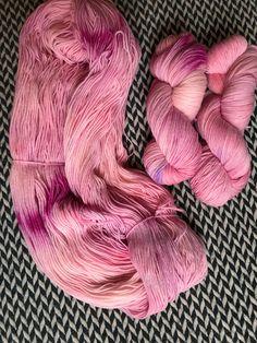 Hand-dyed yarn, Indie dyed yarn, hand dyed yarn NO WORDS to SAY --ready to ship--  Staten Island Ferry merino/ nylon sock yarn