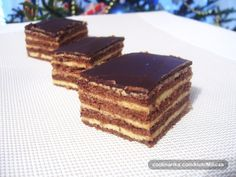 Boemske kocke — Coolinarika Cake Recipes, Dessert Recipes, Cheesecake Ice Cream, Croatian Recipes, Tray Bakes, Sweet Tooth, Cooking Recipes, Sweets, Cookies