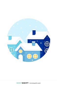 Red Christmas Jumper, Christmas Gift Tags, Flat Design Illustration, Digital Illustration, Vector Illustrations, Vector Art, Print Design, Logo Design, Web Design Packages