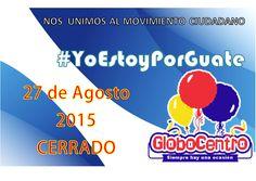 #Globocentro tambien se #Une al #Paro #Nacional por #Amor a #Nuestra #Bella #Guatemala, atendiendo mañana en horario normal de 8:00 a 6:00
