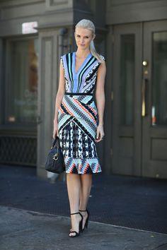kate Davidson hudson fashion style   Street Style: New York Fashion Week Spring 2014