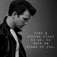 Wicked game, Chris Isaak. This song gives me chills.